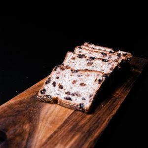 tarwe rogge rozijnenbrood